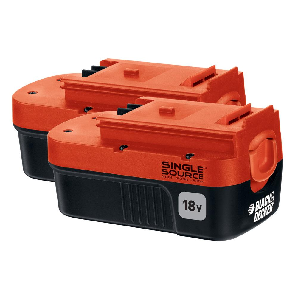 Black & Decker 18 V Nicd Battery 2-Pack at Kmart.com