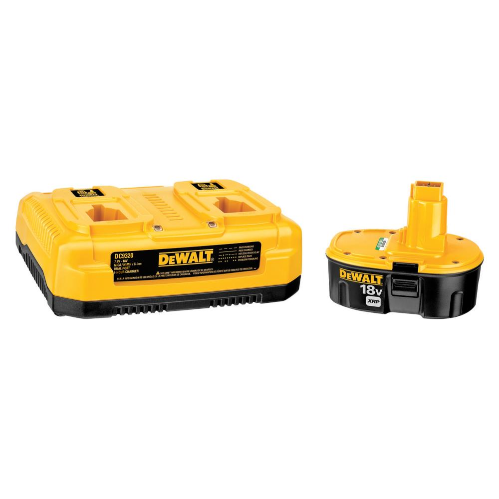 DeWalt 1-Hour Dual Port Charger & 18 V Battery Pack at Sears.com
