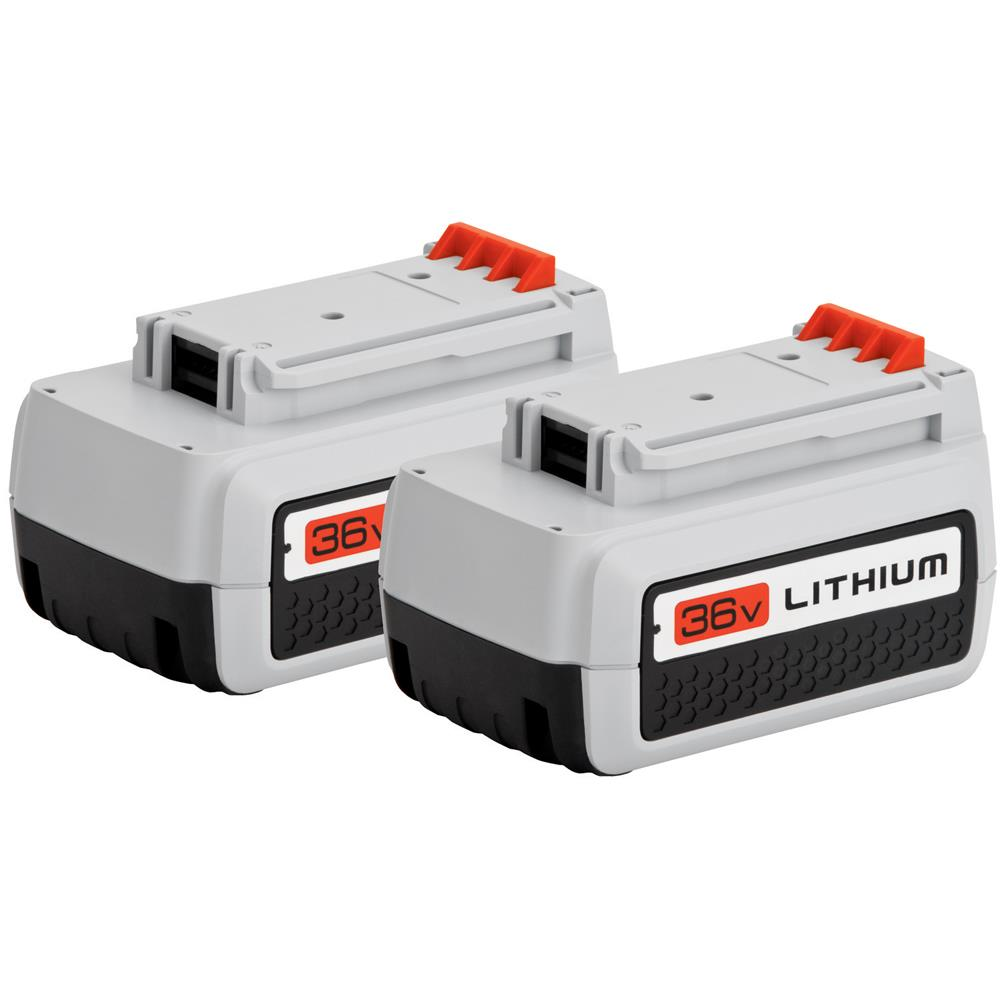 Black & Decker 36 V Lithium Ion Battery (2-pack) at Kmart.com