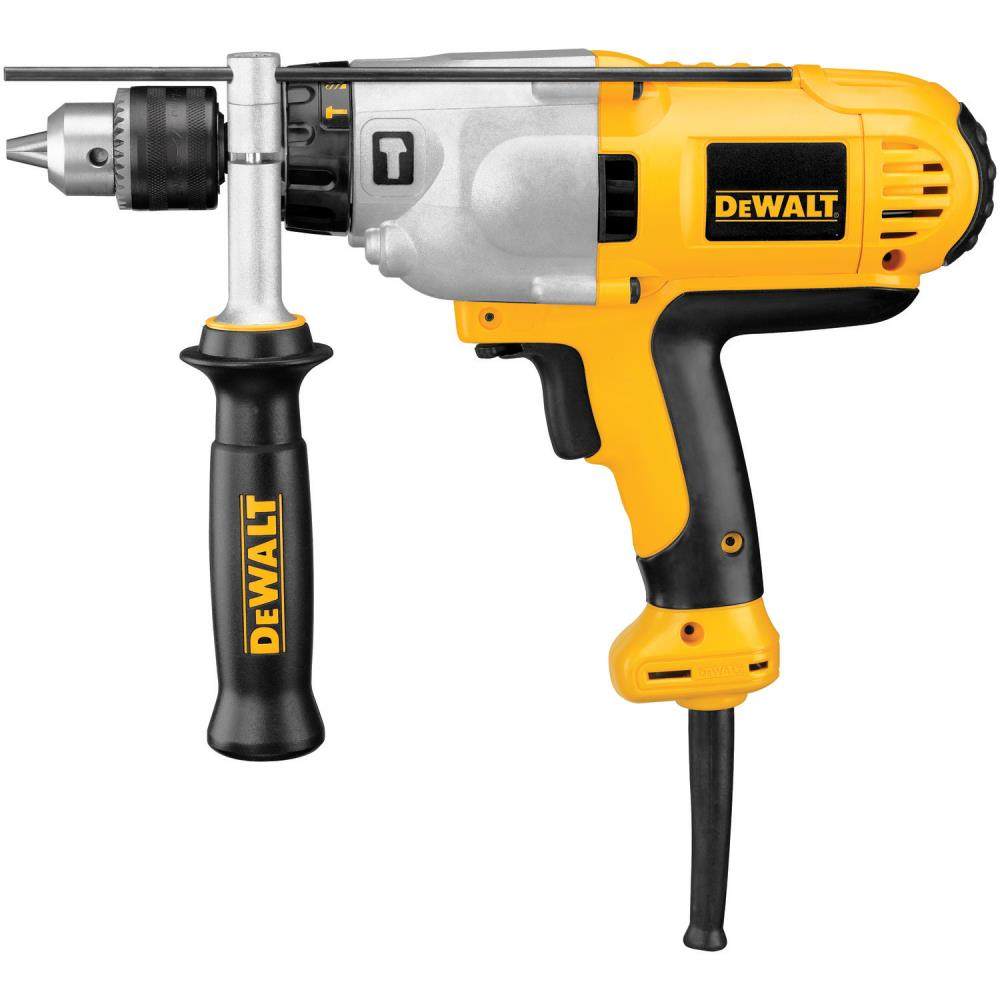 DeWalt 1/2 in. VSR Mid-Handle Grip Hammerdrill Kit at Sears.com