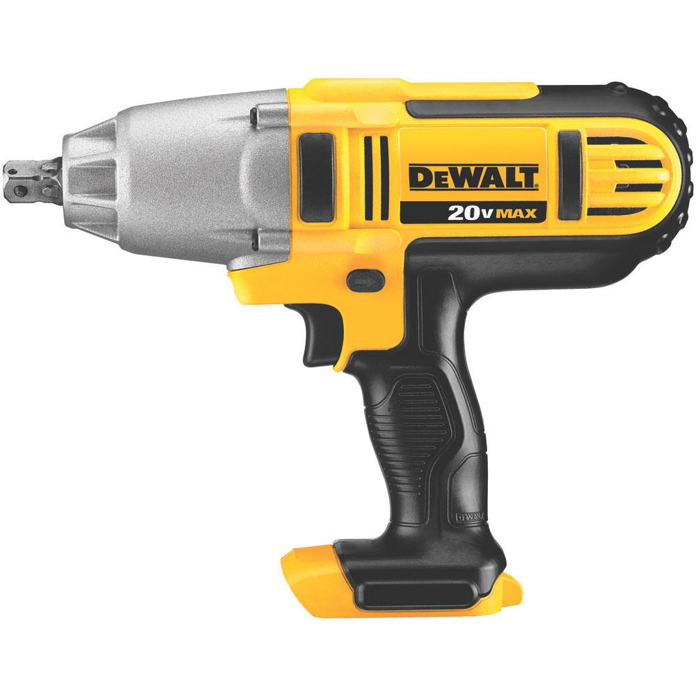 DeWalt 20 V MAX* Lithium Ion 1/2 In. Impact Wrench with Detent Pin (Tool Only) at Kmart.com