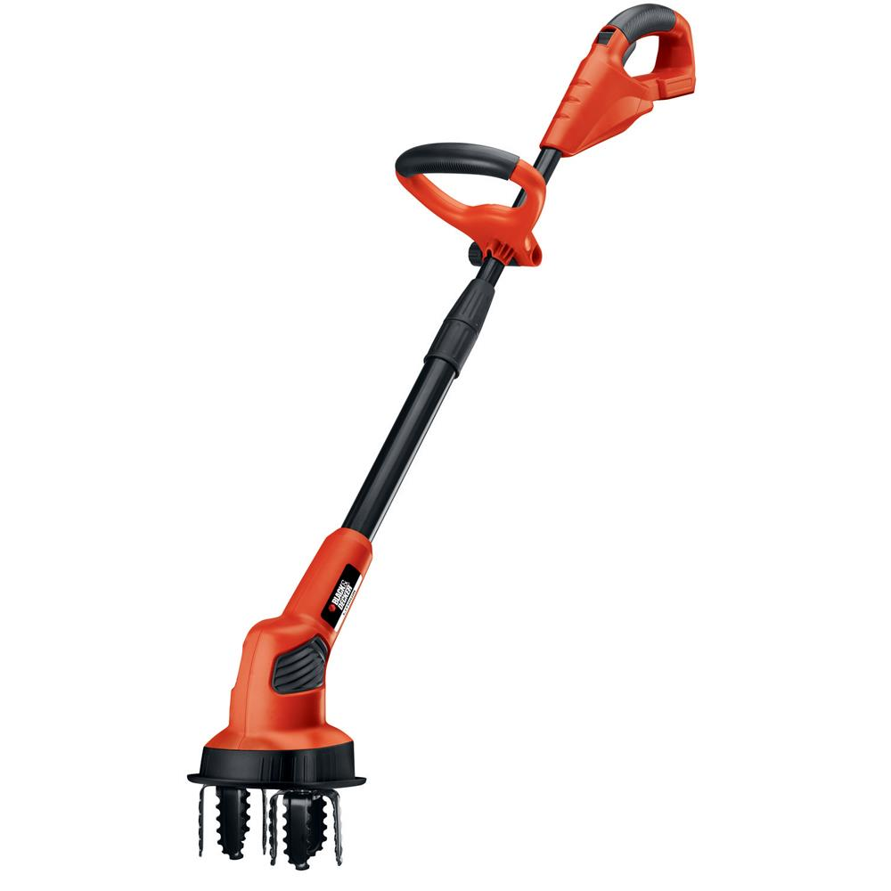 Black & Decker 20 V Max Lithium Garden Cultivator - Battery and Charger