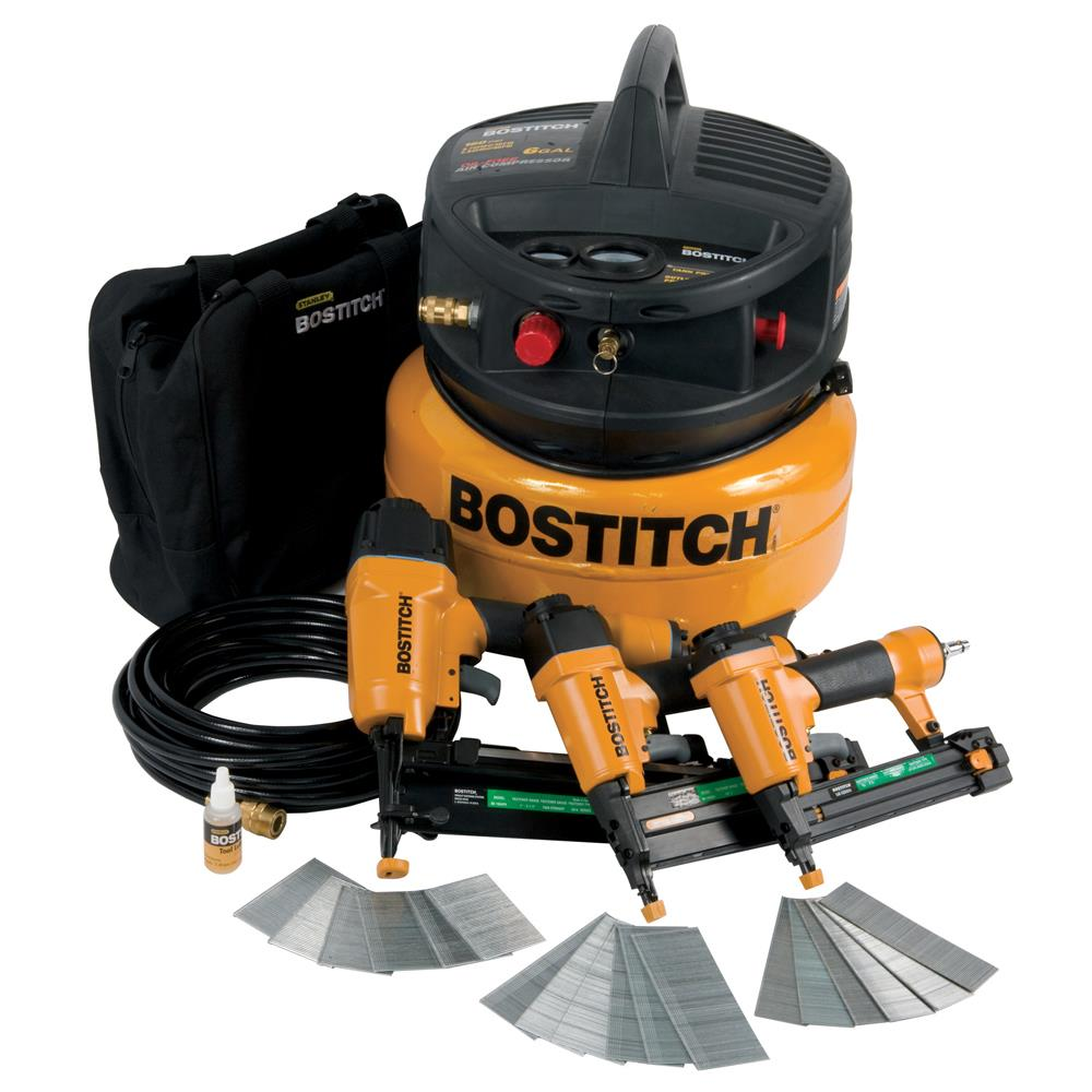 Stanley Bostitch 3-Tool & Compressor Combo Kit at Sears.com