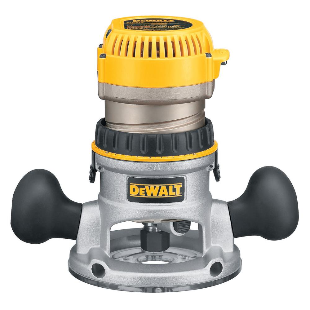 DeWalt 2-1/4 HP (maximum motor HP) Eva Fixed Base Router with Soft Start at Sears.com