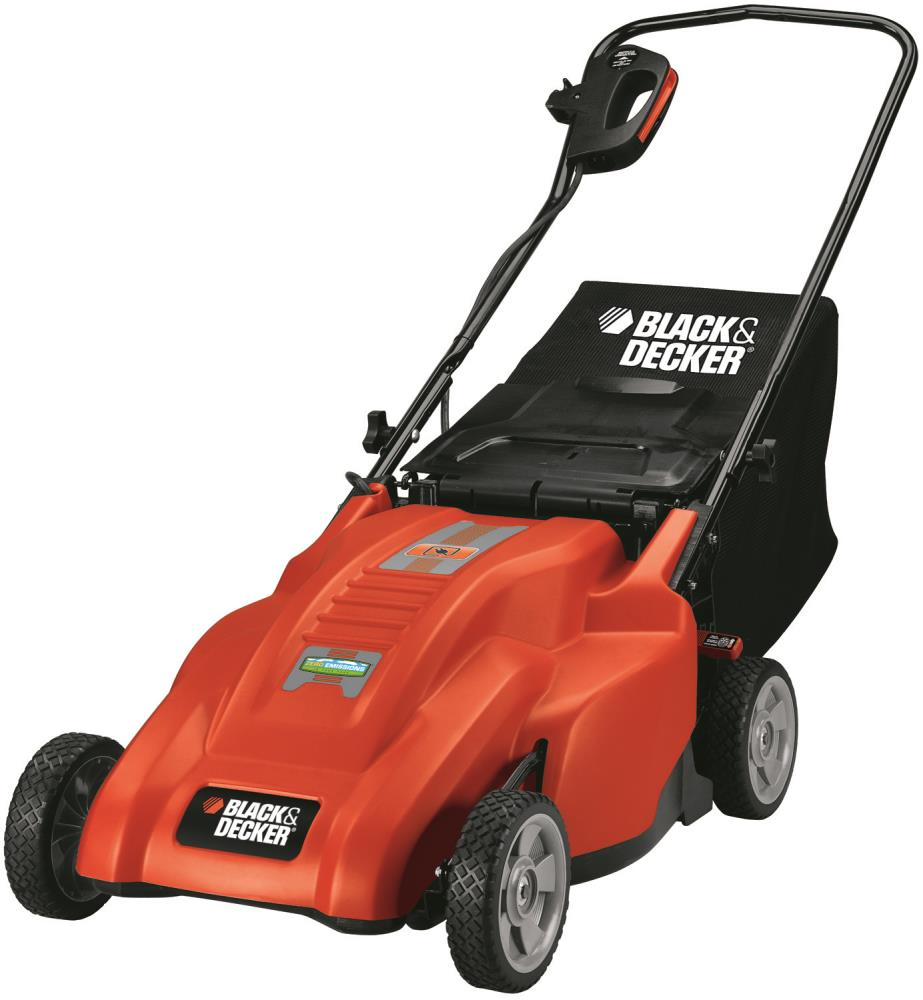 Black & Decker 18 In. Rear Bag Mulching Mower at Kmart.com