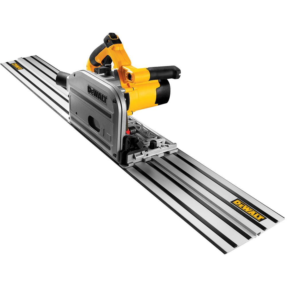 DeWalt 6-1/2 In. 12 Amp TrackSaw Kit w/ 59 In. Track at Sears.com