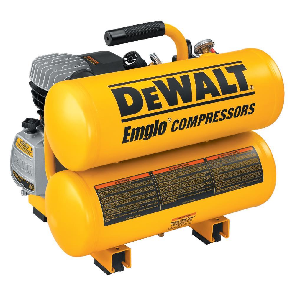 DeWalt 1.1 HP Electric 4 gal Compressor at Sears.com