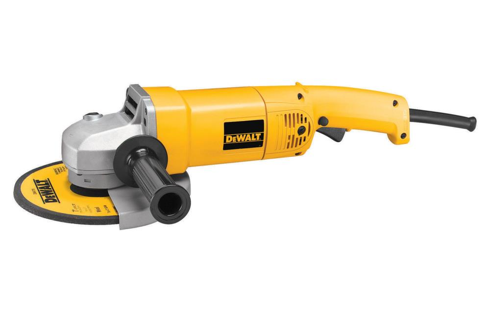 DeWalt 7 In. (180mm) Medium Angle Grinder at Sears.com