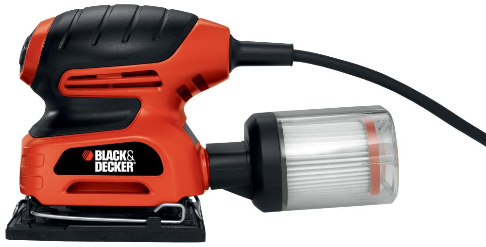 Black & Decker 1/4 Sheet Sander with Filtered Dust Collection at Sears.com